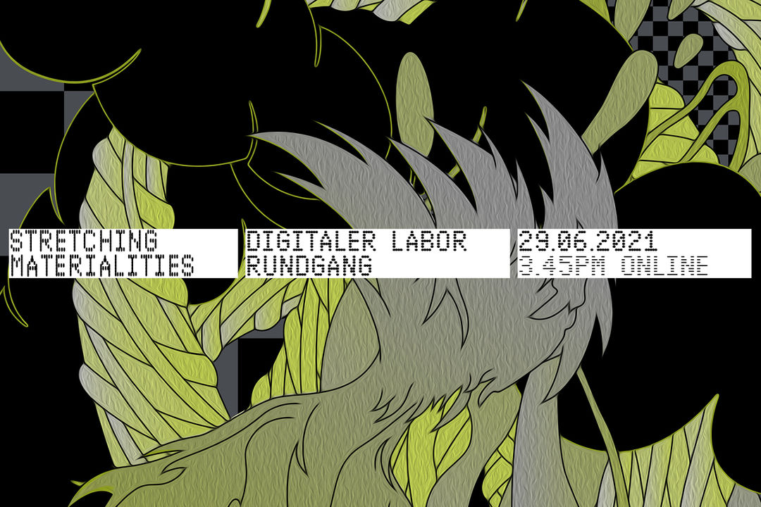 Banner Lab Tour »Stretching Materialities«. Copyright: Offshore Design