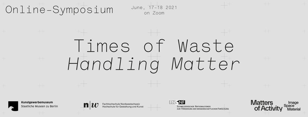 Banner »Times of Waste«. Copyright: Rory Witt
