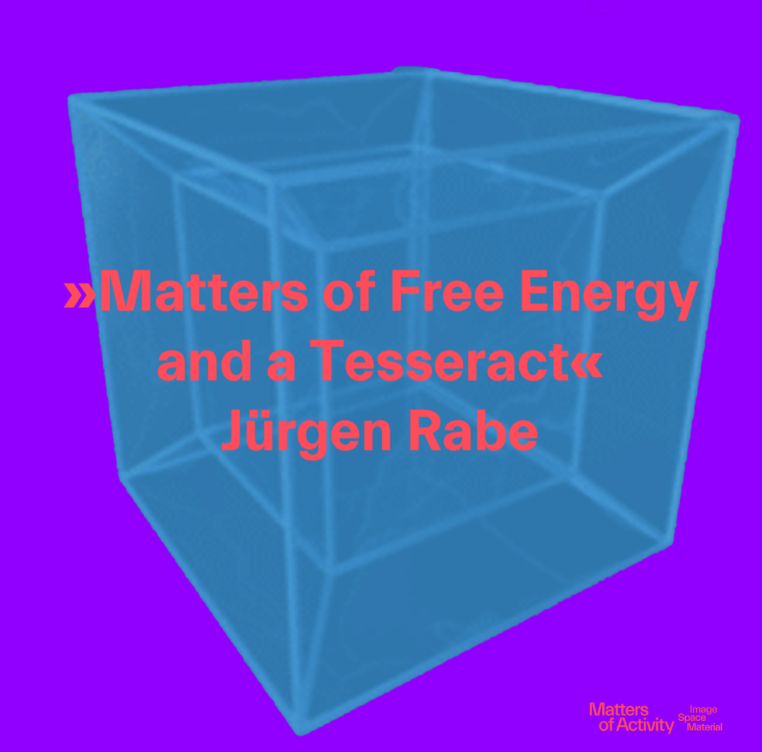 Tesseract. Copyright: Wikipedia adapted by »Matters of Activity«