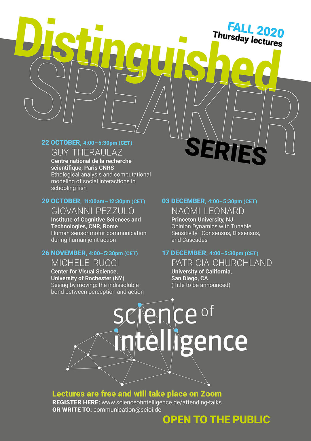 Copyright: Cluster of Excellence »Science of Intelligence«