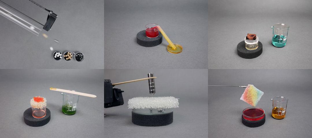 Experiments overview. Copyright: Veronika Aumann, Thomas Ness