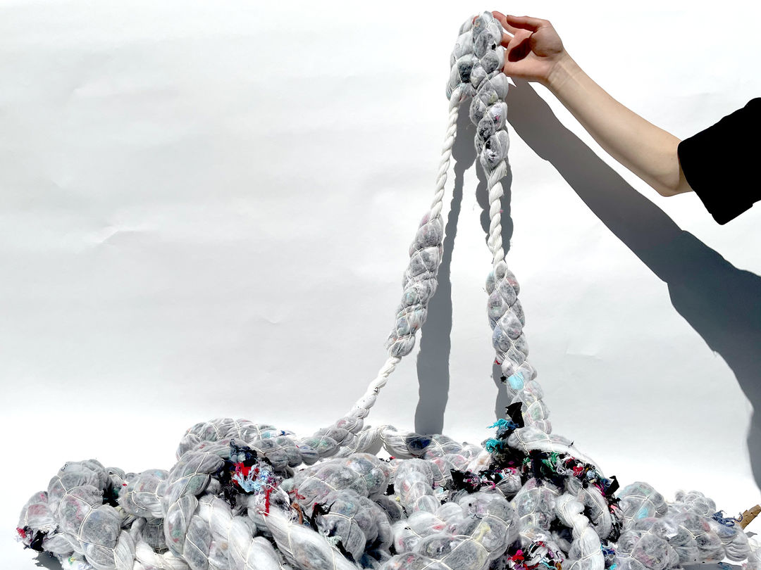 Scaling Fiber: Experimental Yarn. Copyright: weißensee school of art and design berlin
