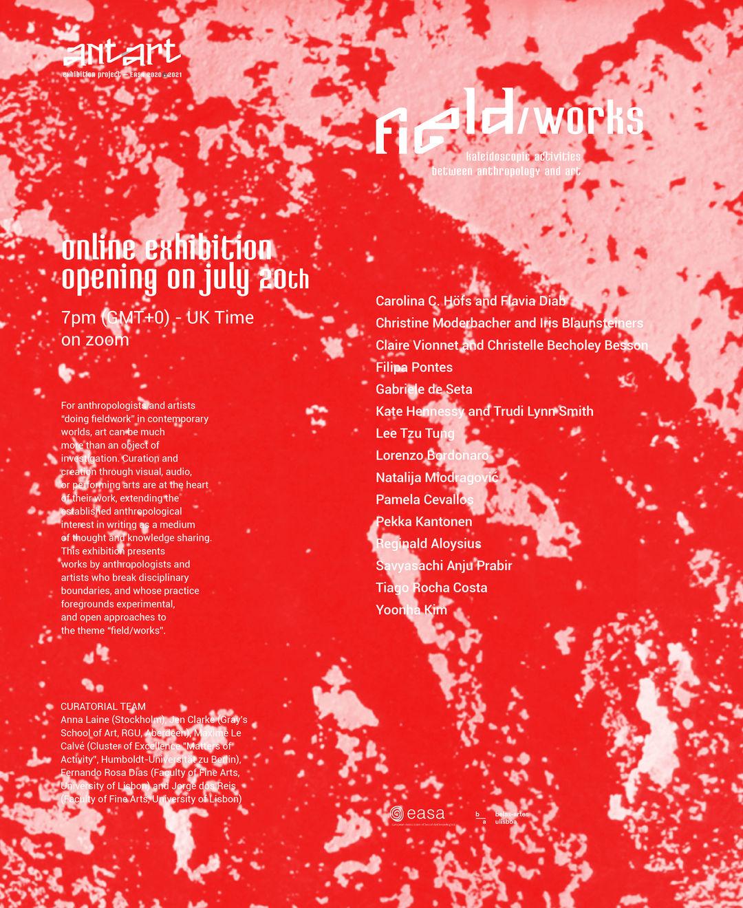 Poster »Field/Works«. Copyright: Antart
